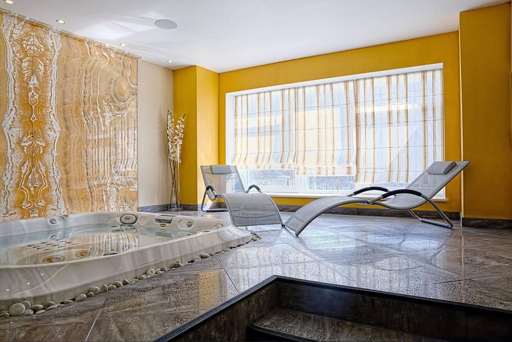 Коттедж Новая рига, 1000 кв.м Бассейн в классическом стиле от ELLE DESIGN STUDIO Классический
