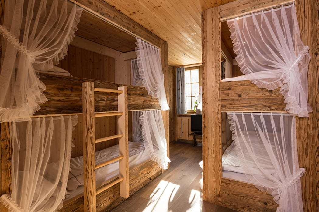 Kinderzimmer: rustikale schlafzimmer von rh-design | homify