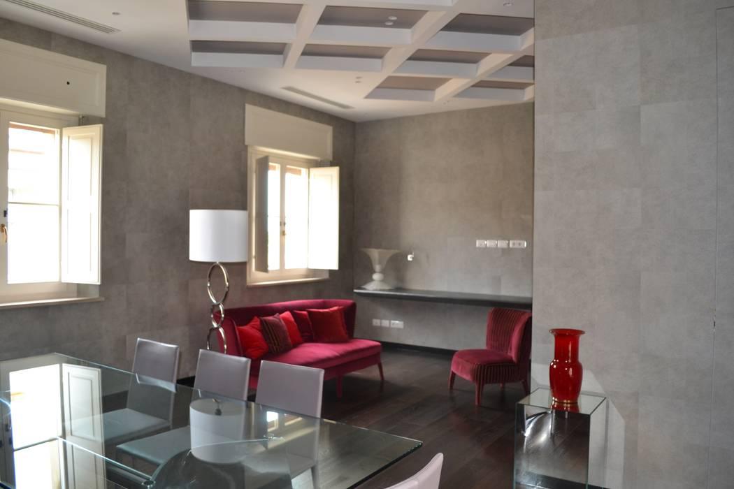 sala riunioni: Studio in stile in stile Moderno di bilune studio