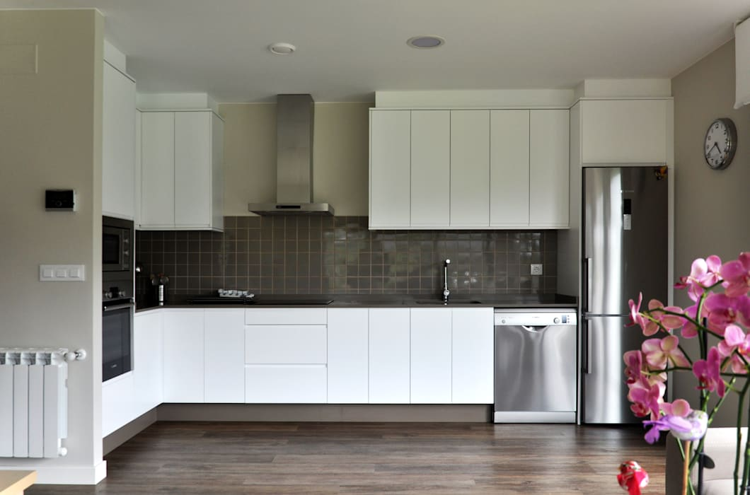 Casa prefabricada Cube 75 m2 - Cocina Casas Cube Cocinas de estilo moderno