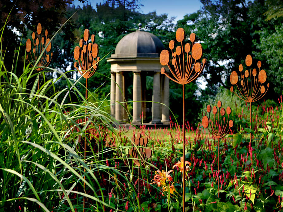 Contemporary Garden Sculpture Modern Garden By Garden Art And Sculpture Modern Metal Homify