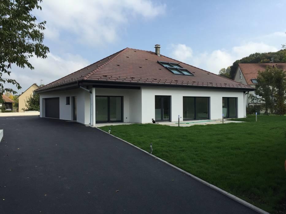 Projekty Dach Czterospadowy Zaprojektowane Przez A Fuke Prigent