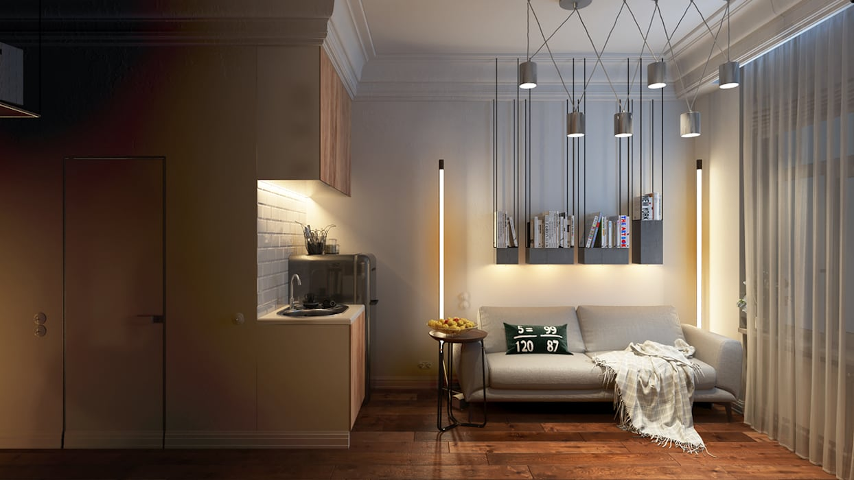 Eclectic style kitchen by Vashantsev Nik Eclectic