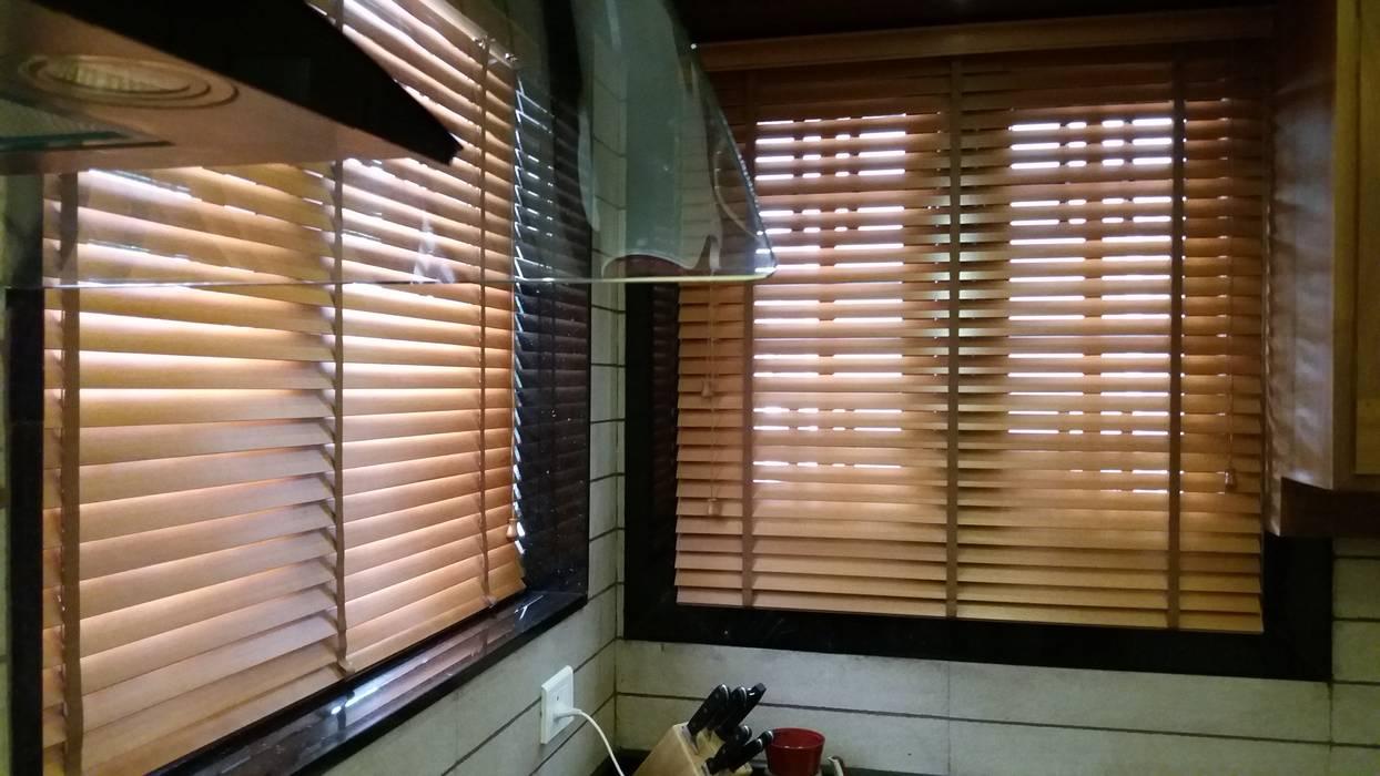 Wood venetian Blinds Clinque window blind systems Windows & doors Blinds & shutters
