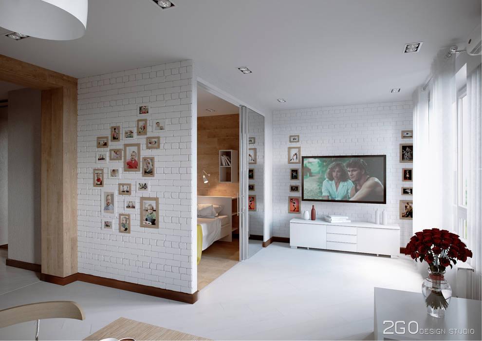 Modern living room by homify Modern Tiles