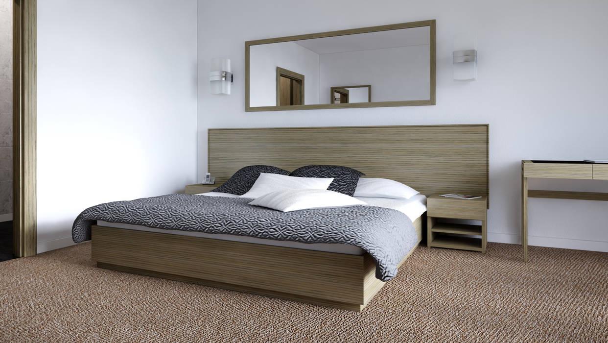 diesco BedroomBeds & headboards Wood-Plastic Composite Wood effect
