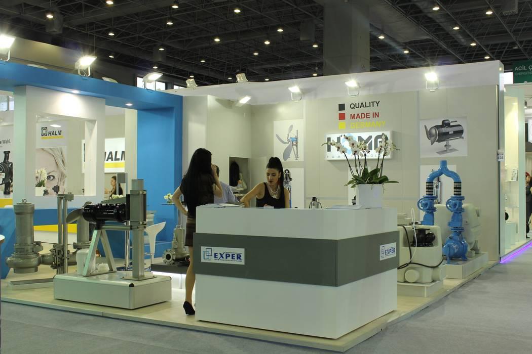 GENT İÇ MİMARLIK Salones de eventos de estilo moderno