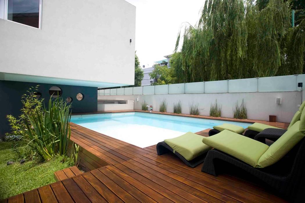 Kolam Renang Modern Oleh Remy Arquitectos Modern