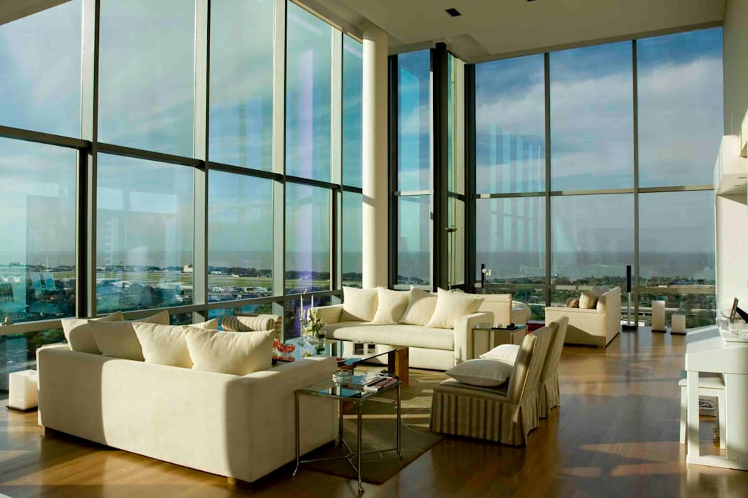 Remy Arquitectos Modern Living Room