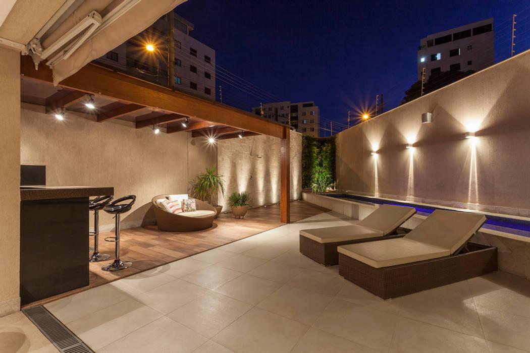 Estela Netto Arquitetura e Design 泳池