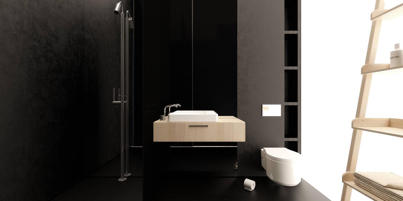 Minimalist style bathroom by IGOR SIROTOV ARCHITECTS Minimalist