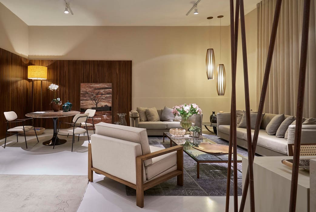 Salas modernas de Lider Interiores Moderno
