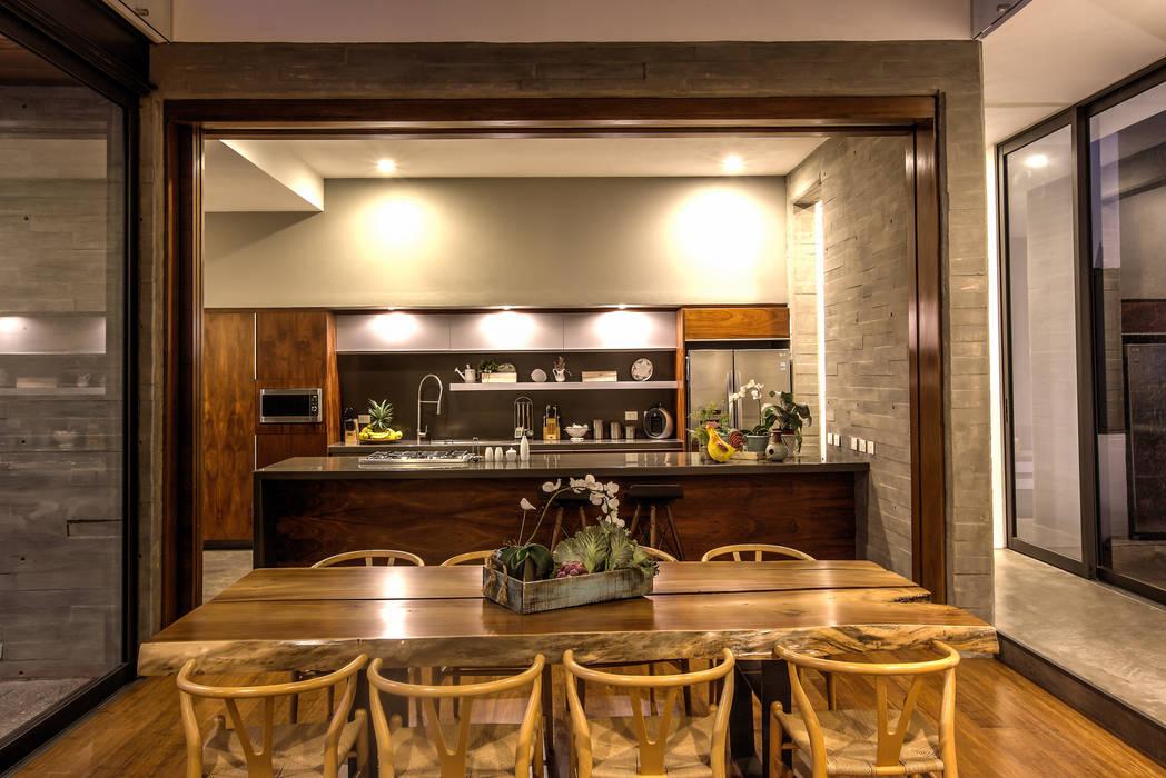Cocina Cocinas modernas de ze|arquitectura Moderno