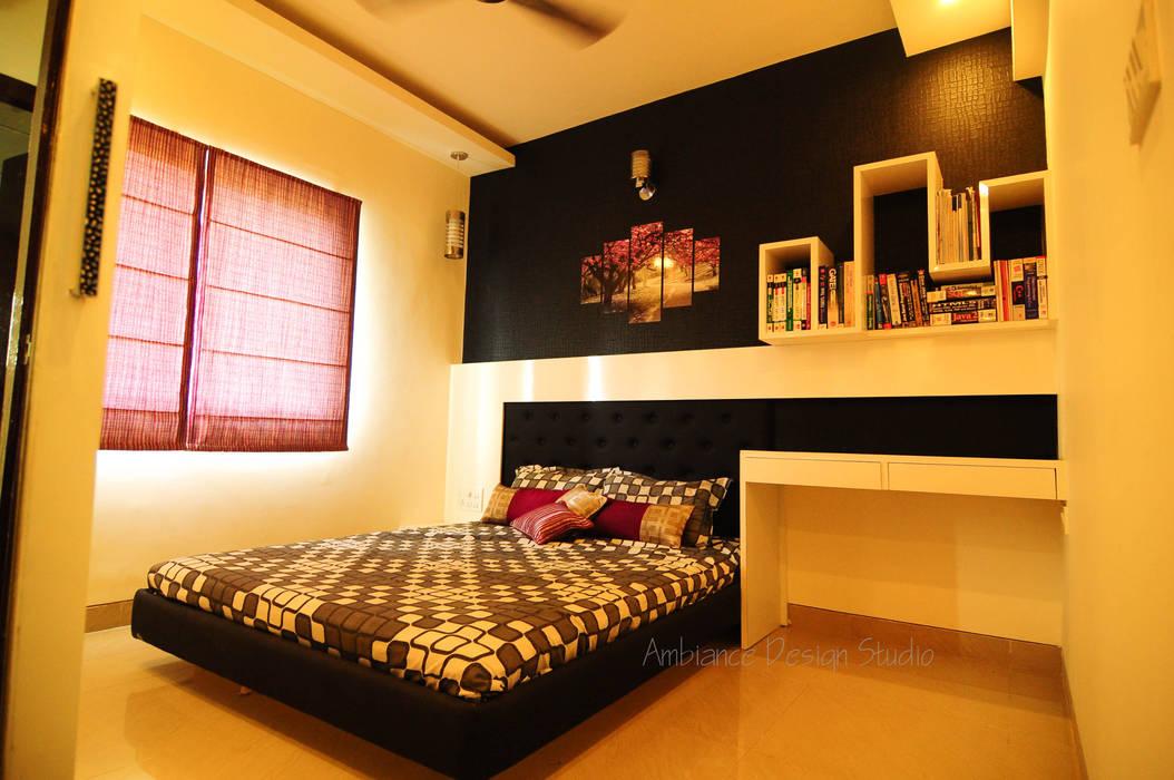 Mr Siddhart Shandilya Minimalist bedroom by Ambiance Design Studio Minimalist