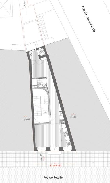 Edifício habitacional por Alves Dias arquitetos Eclético