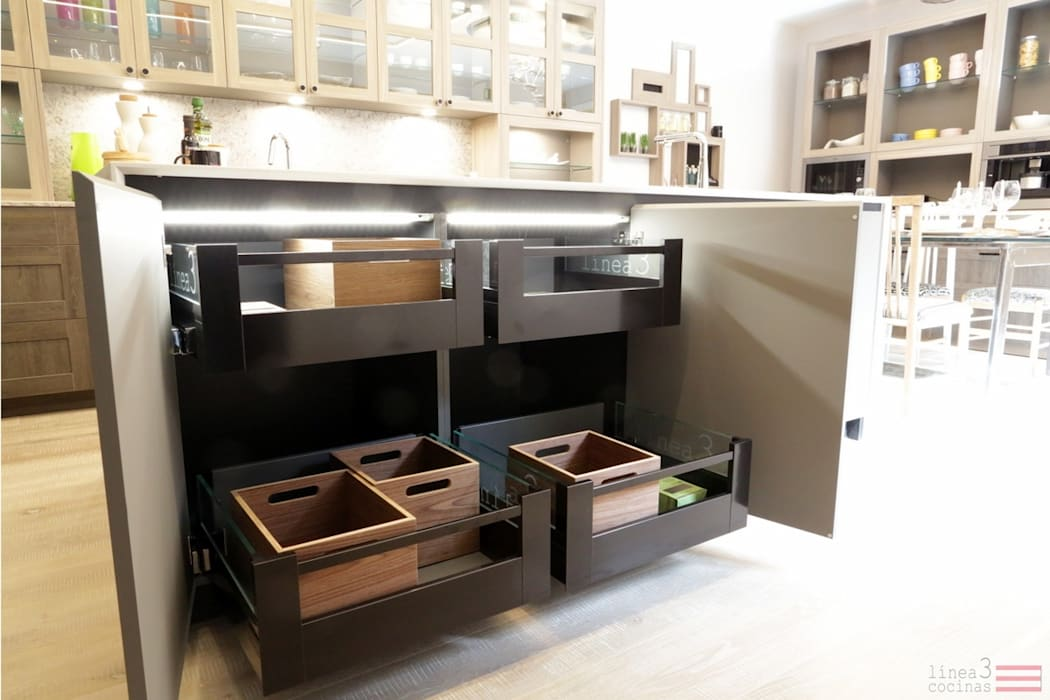 Diseño de Cocina en Casa Decor: Cocinas de estilo  de Línea 3 Cocinas Madrid,