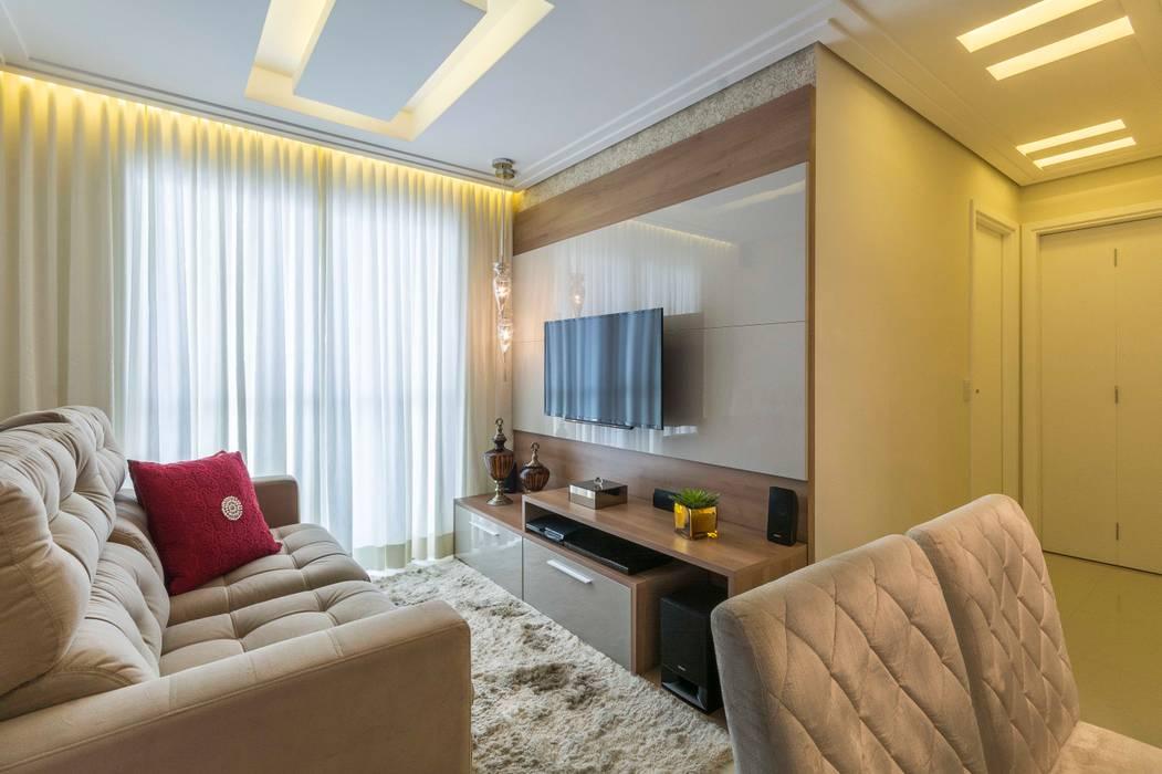 Salas / recibidores de estilo  por Silvana Borzi Design,