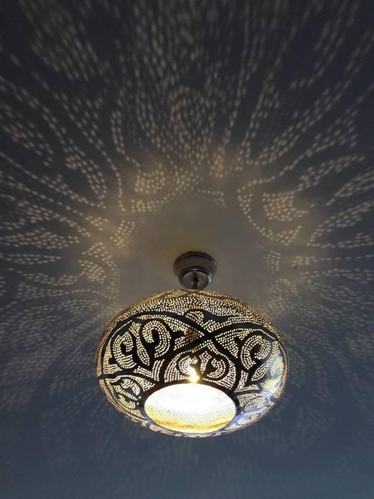 Orientalische hängelampe: schlafzimmer von oriental moon | homify