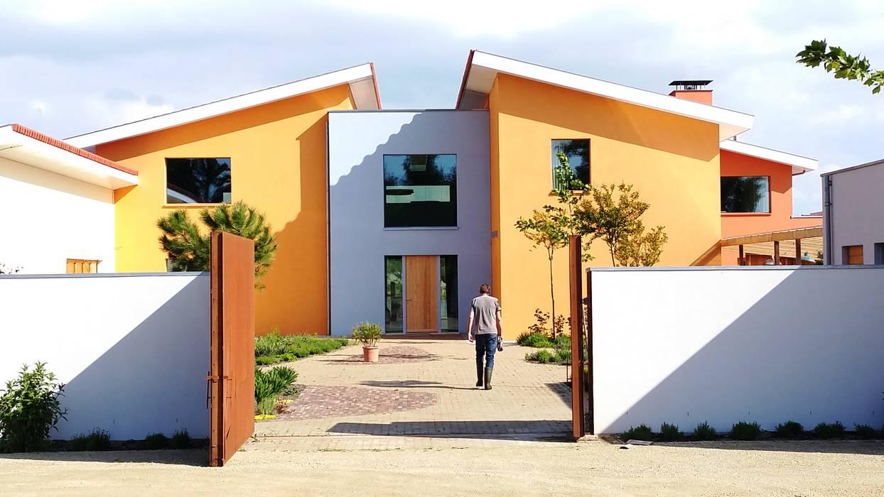 Landgoed Kuinderbos:  Huizen door K4 architecten bna,