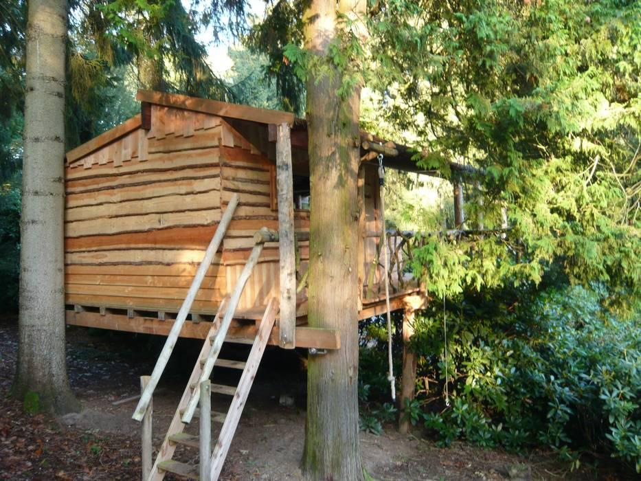 Boomhutten - Treehouses Landelijke huizen van TENSO Landelijk Hout Hout