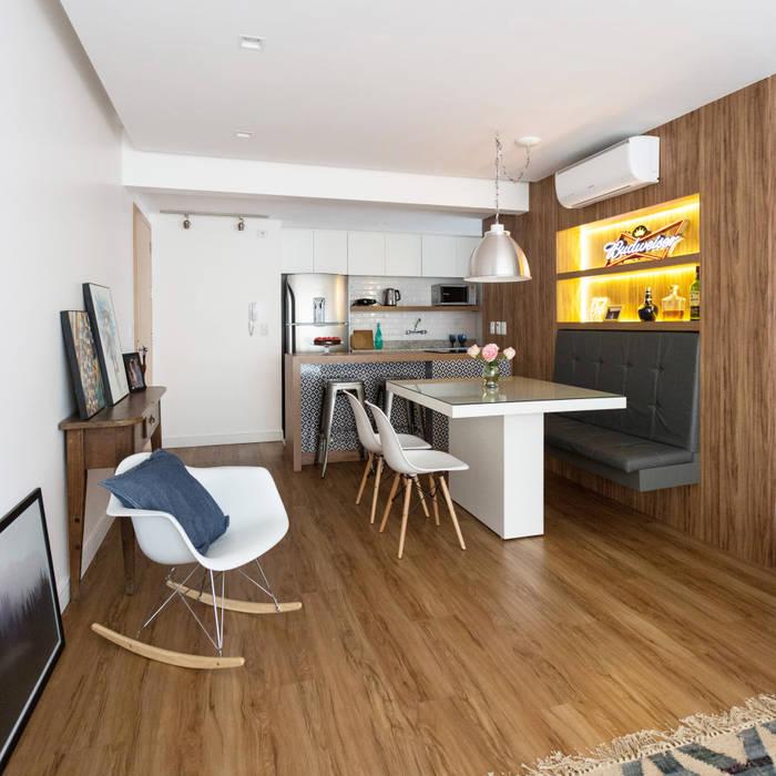 LZB | 16 Salas de jantar modernas por homify Moderno MDF
