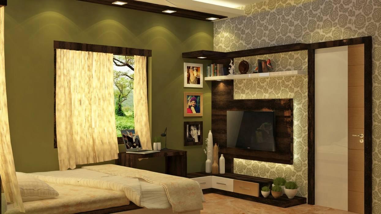Creazione Interiors Camera da letto moderna
