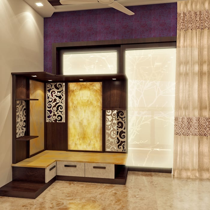 Living room: modern Living room by Creazione Interiors