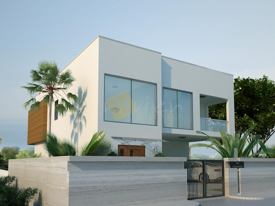 Modern Houses by Murat Aksel Architecture Modern Ceramic