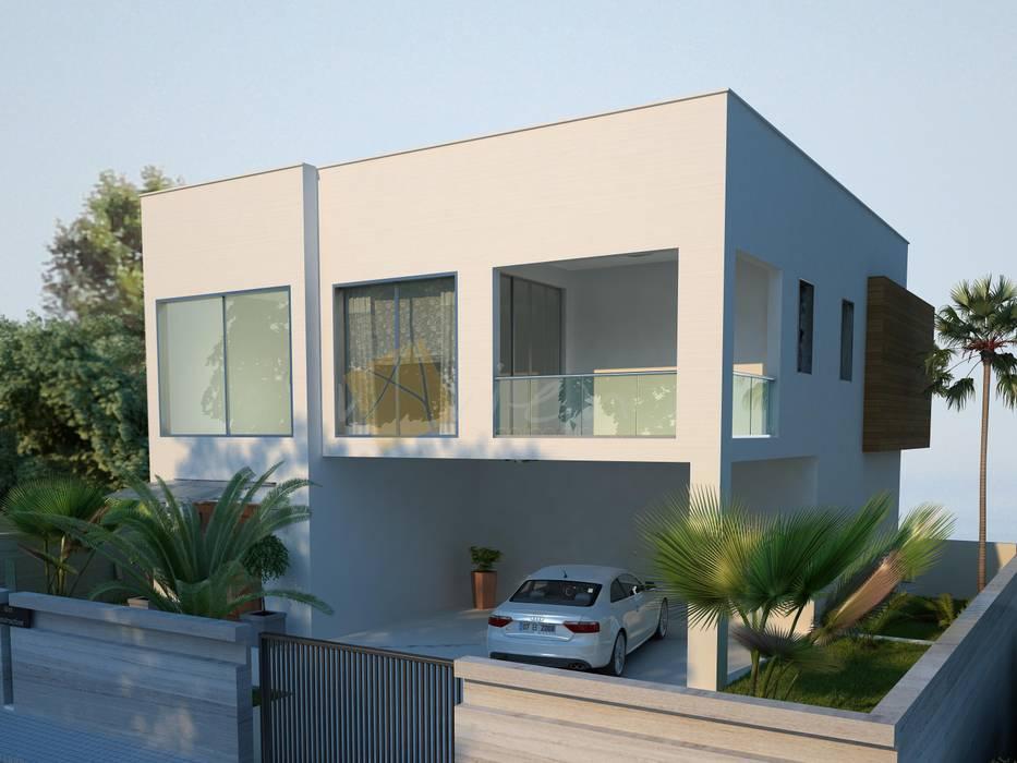 Casas estilo moderno: ideas, arquitectura e imágenes de Murat Aksel Architecture Moderno Granito