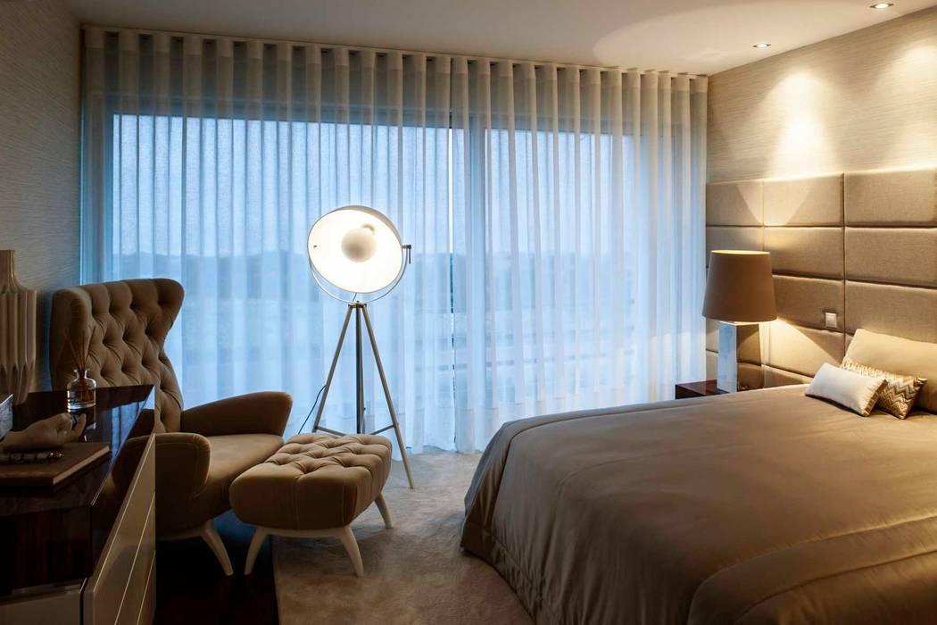 ห้องนอน โดย Susana Camelo, โมเดิร์น