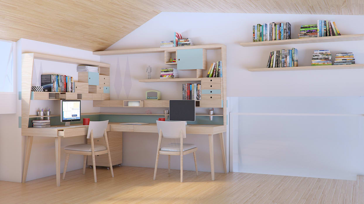 de Infinitta - arte | design | arquitetura | interiores | vm Escandinavo Madera Acabado en madera