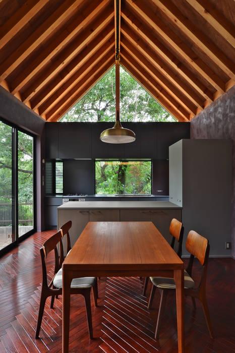守山の家 Moderne Esszimmer von Nobuyoshi Hayashi Modern