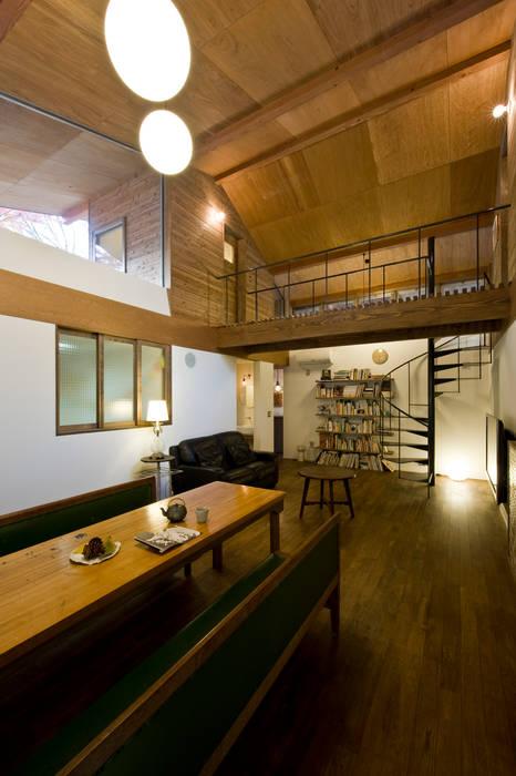 広明の家 モダンデザインの ダイニング の Nobuyoshi Hayashi モダン