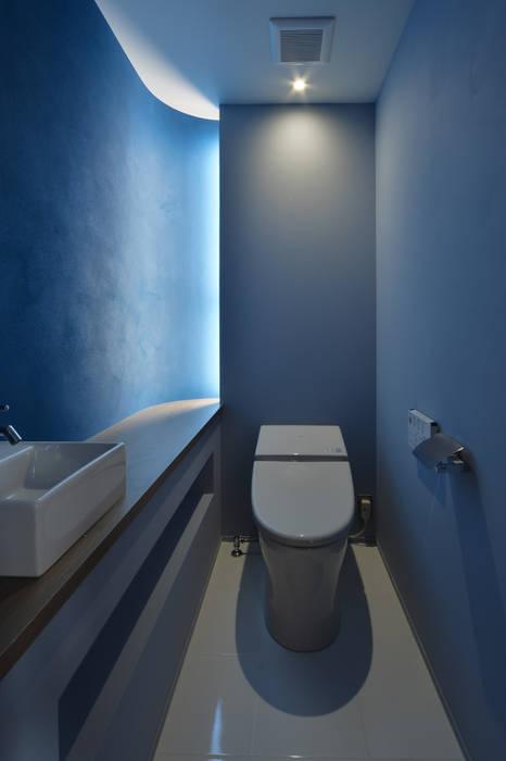 Ванные комнаты в . Автор – Nobuyoshi Hayashi, Модерн