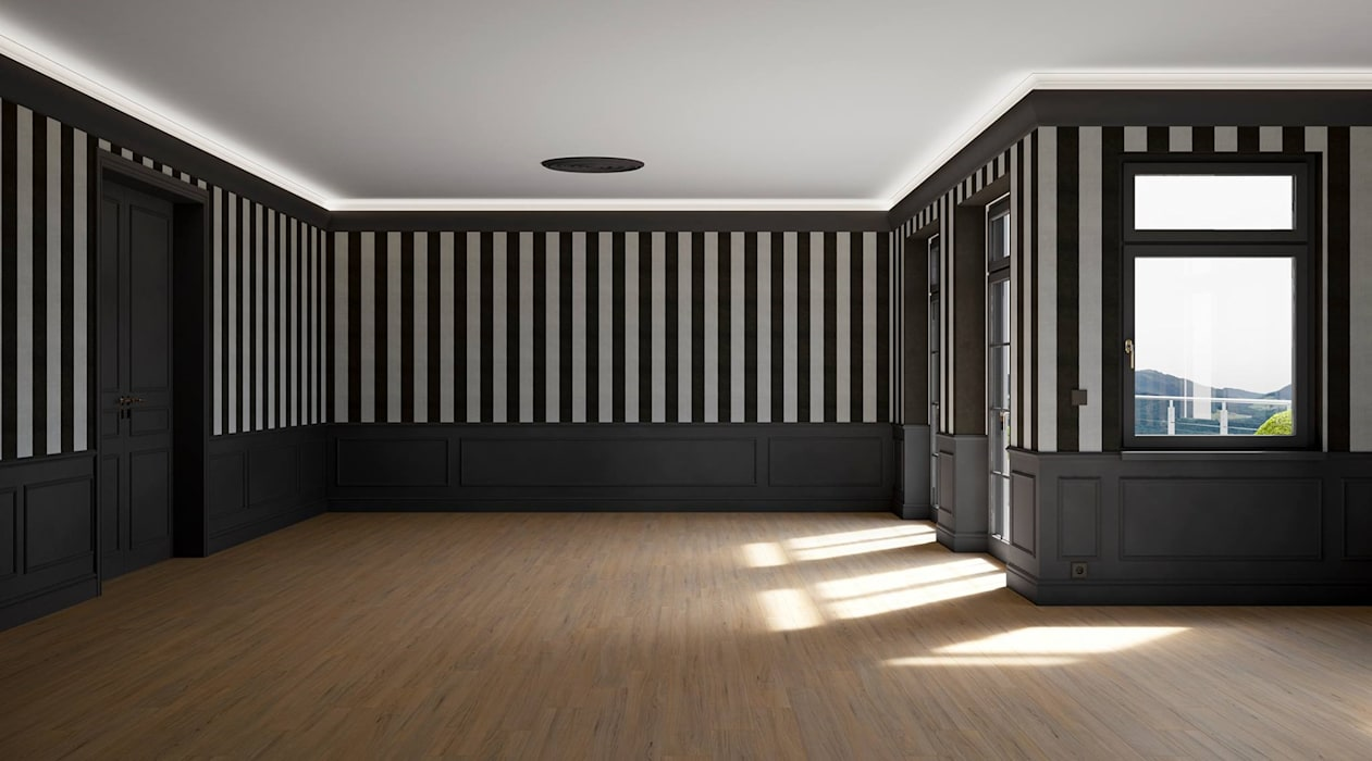 Living room by makasa, Classic