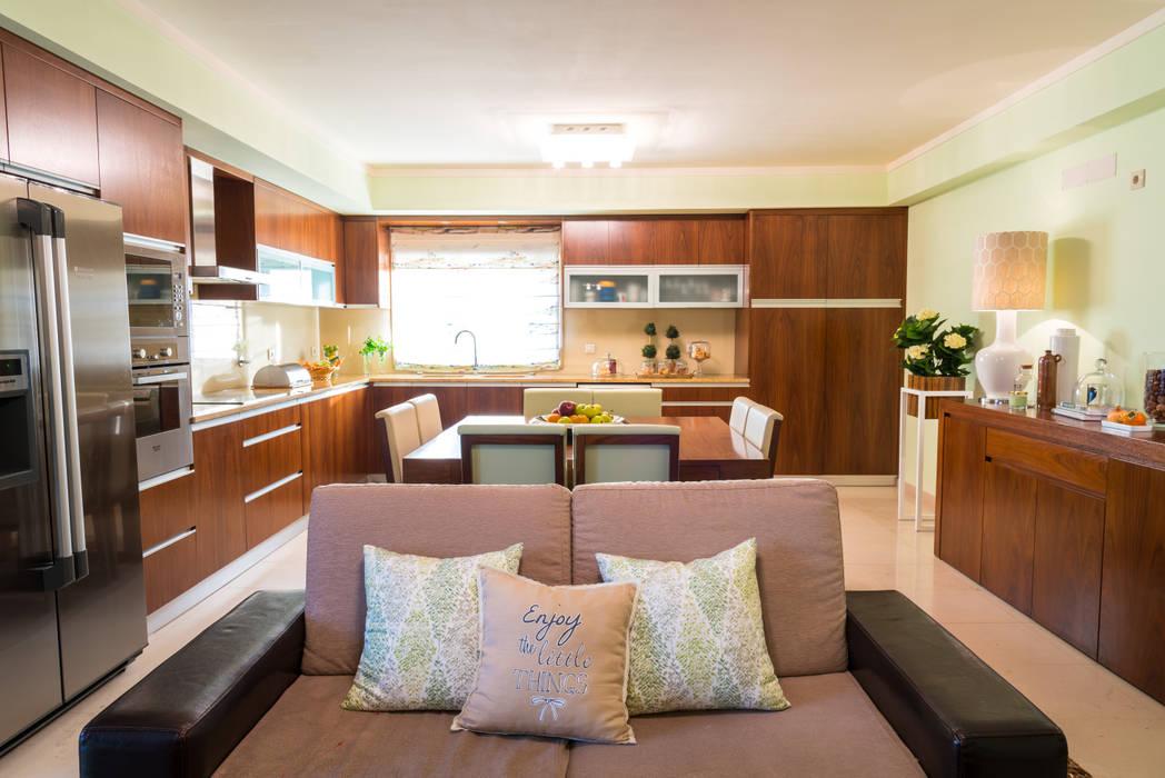 Cozinha Campestre: Cozinhas  por Ângela Pinheiro Home Design,