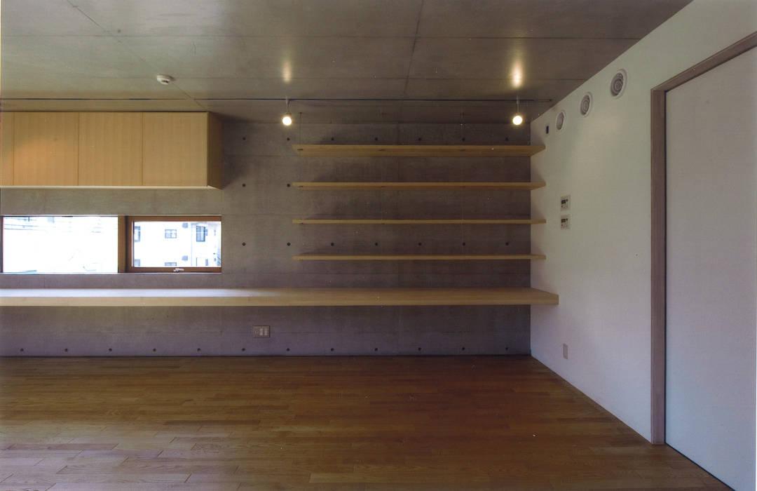 Bureau moderne par ツチヤタケシ建築事務所 Moderne