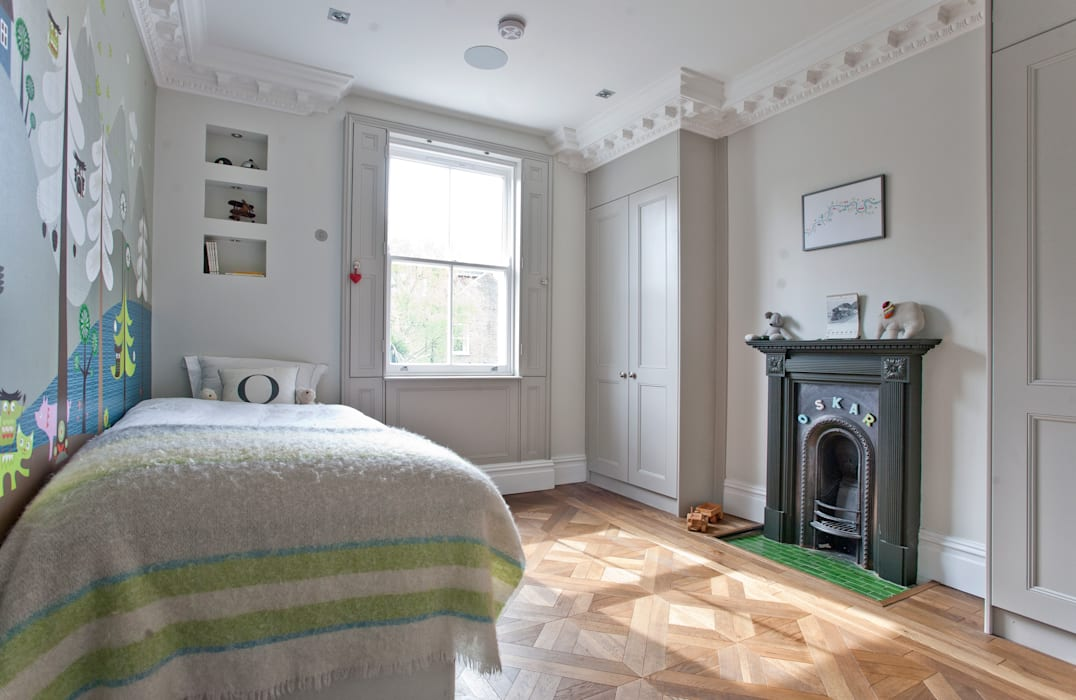 Richmond Full House Refurbishment Minimalist bedroom by A1 Lofts and Extensions Minimalist