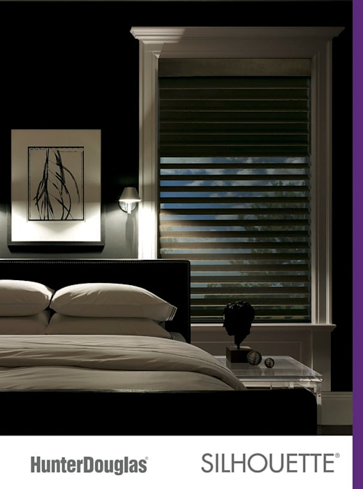 Silhouette®: Recámaras de estilo  por Dekorier Interiores