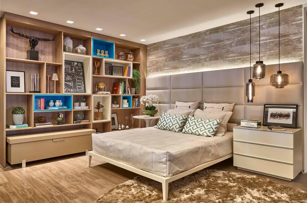 Dormitorios de estilo moderno de Lider Interiores Moderno