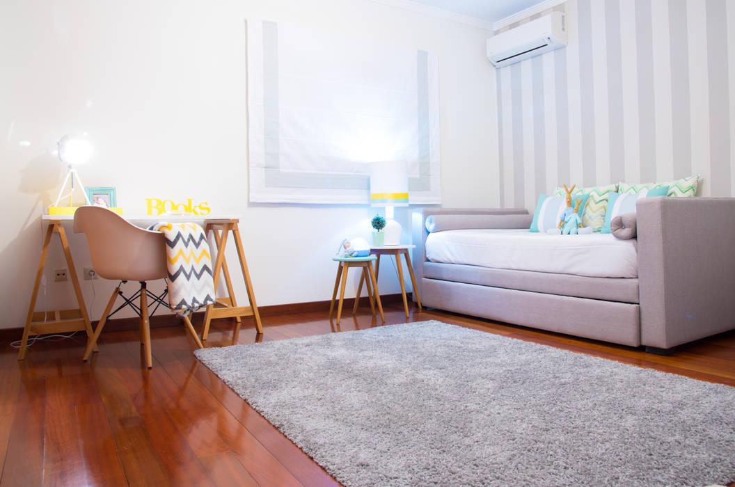 Quarto do Gui: Quartos  por Ângela Pinheiro Home Design