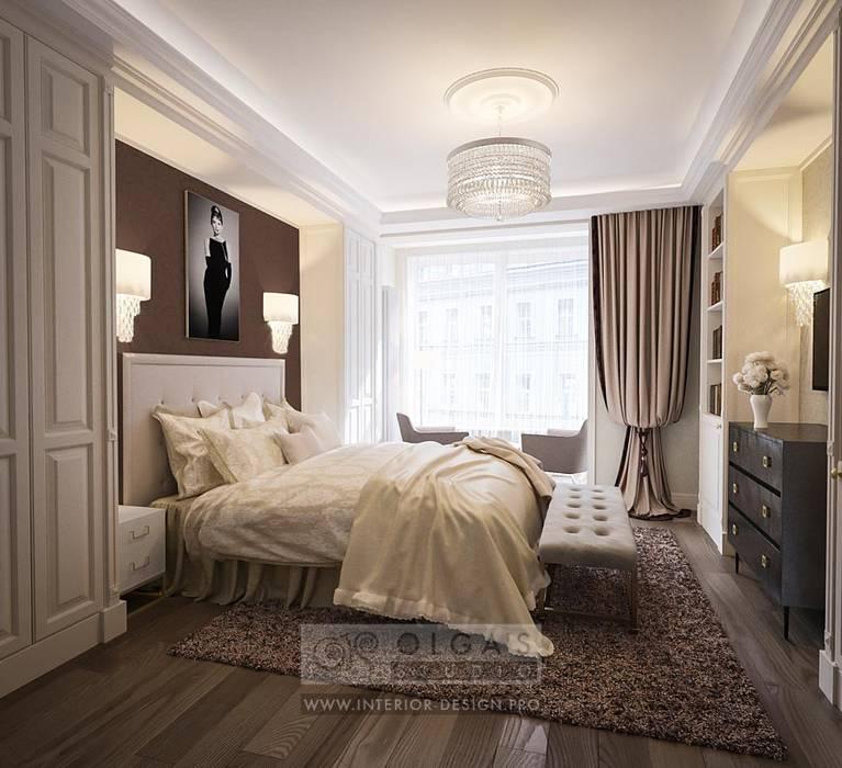 Спальня: Спальни в . Автор – Olga's Studio, Классический