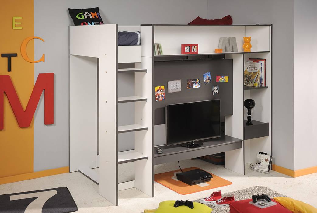 Lastmeubles Nursery/kid's roomBeds & cribs White