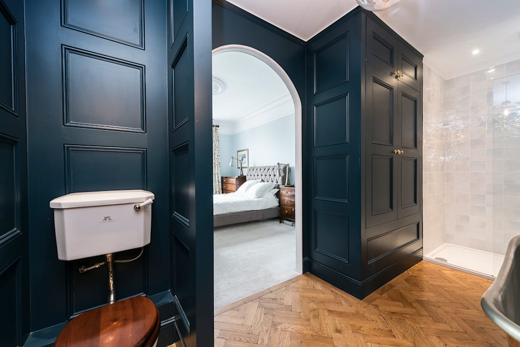 Full renovation on Trinity Road, London: modern Bathroom by Grand Design London Ltd