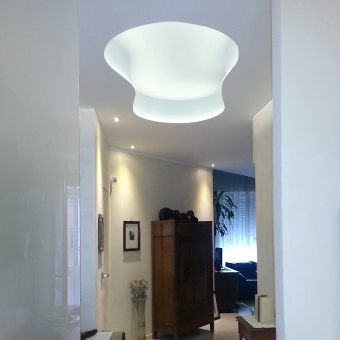 Modern Corridor, Hallway and Staircase by ArchitetturaTerapia® Modern