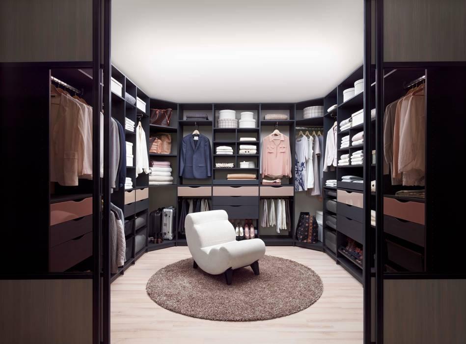 Elfa Deutschland GmbH Dressing roomWardrobes & drawers Wood-Plastic Composite Black