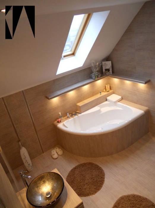 Katarzyna Wnęk Modern style bathrooms