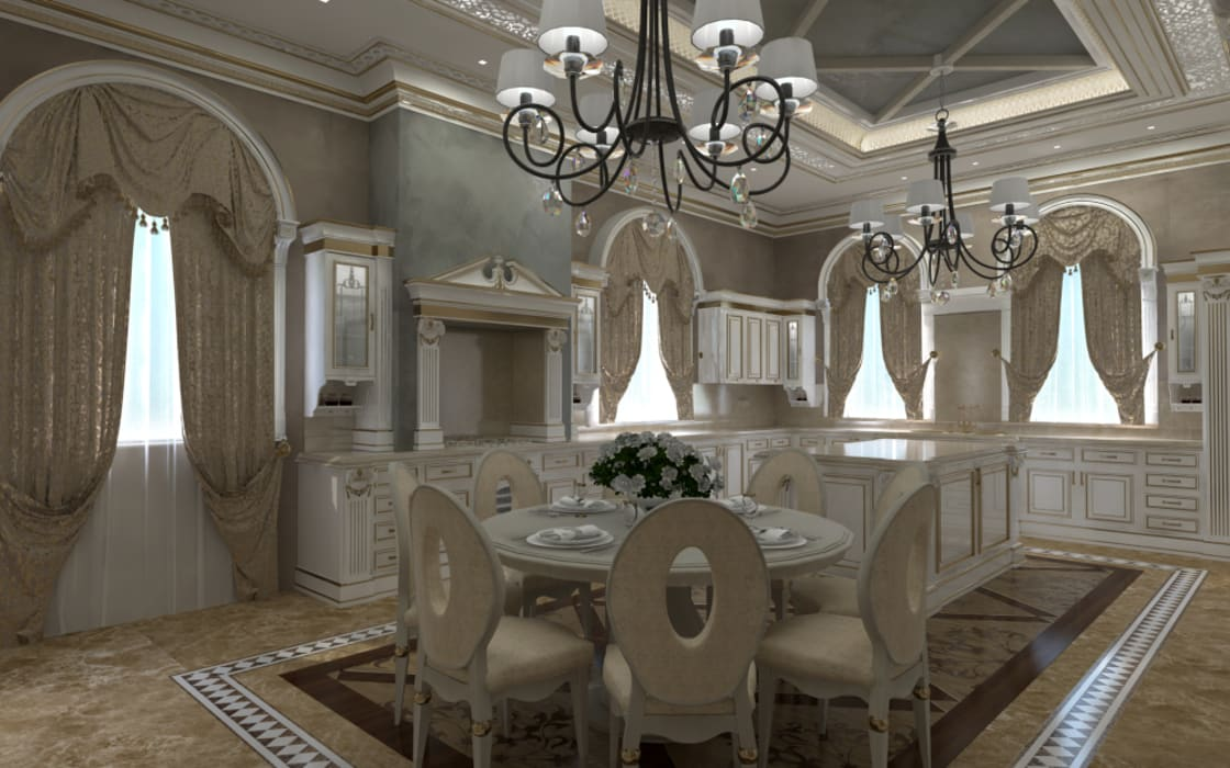 Classic style kitchen by Kakoyan Design Classic