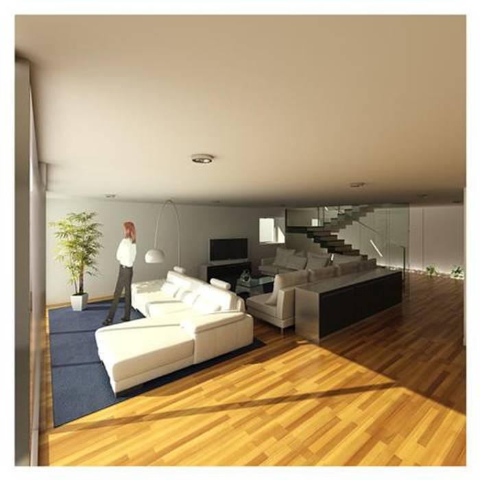 Mendonça Santos Arquitetos & Associados Modern living room