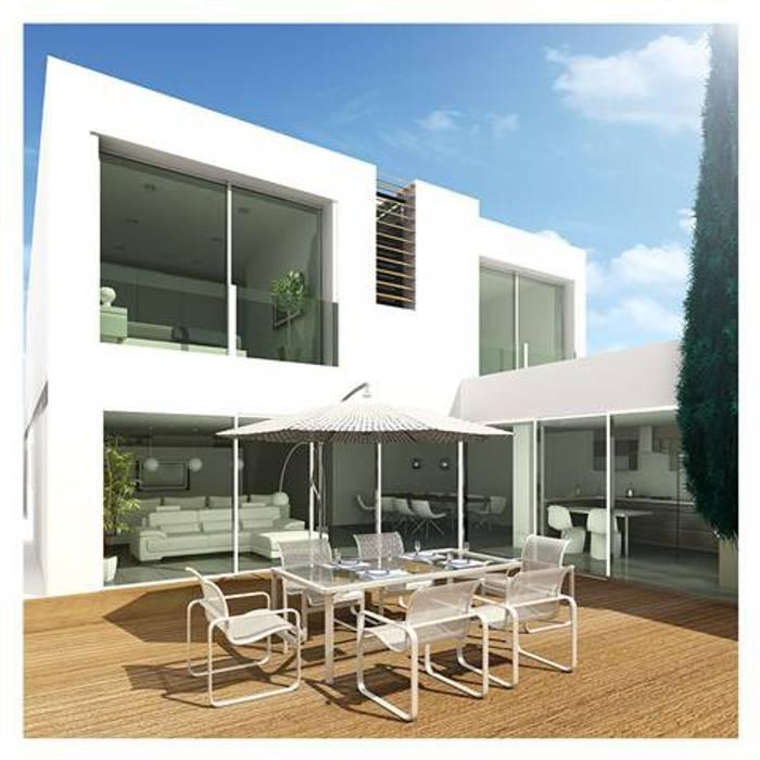 Mendonça Santos Arquitetos & Associados Maisons modernes